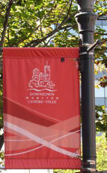 Downtown Moncton Banners