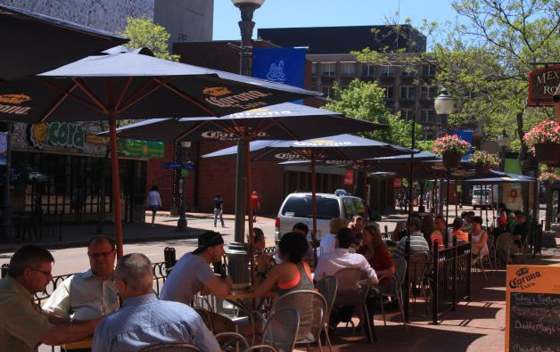 Downtown Moncton Patios