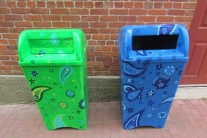 L'Art ici SVP Garbage Bin Project